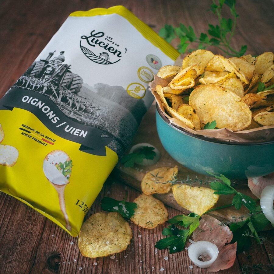Chips Oignons 125 g