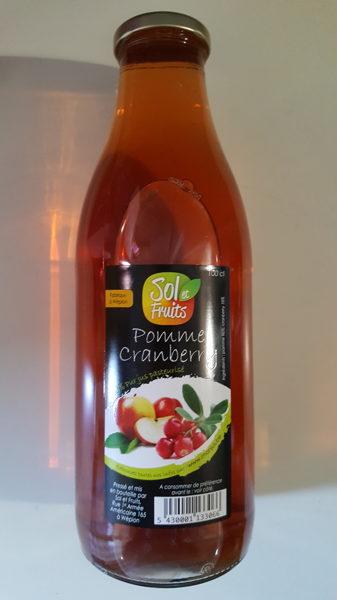 Jus pomme - cranberry 1 l