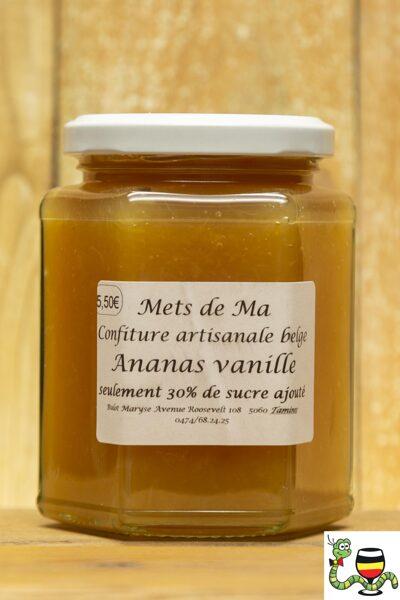 Confiture ananas vanille 280 g