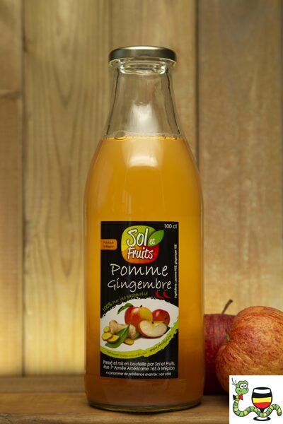 Jus pomme - gingembre 1 l
