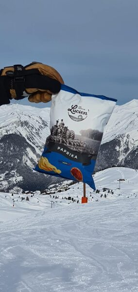 Chips Paprika 125 g