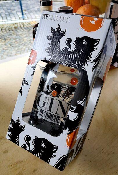 Coffret Gin de Binche 70 cl